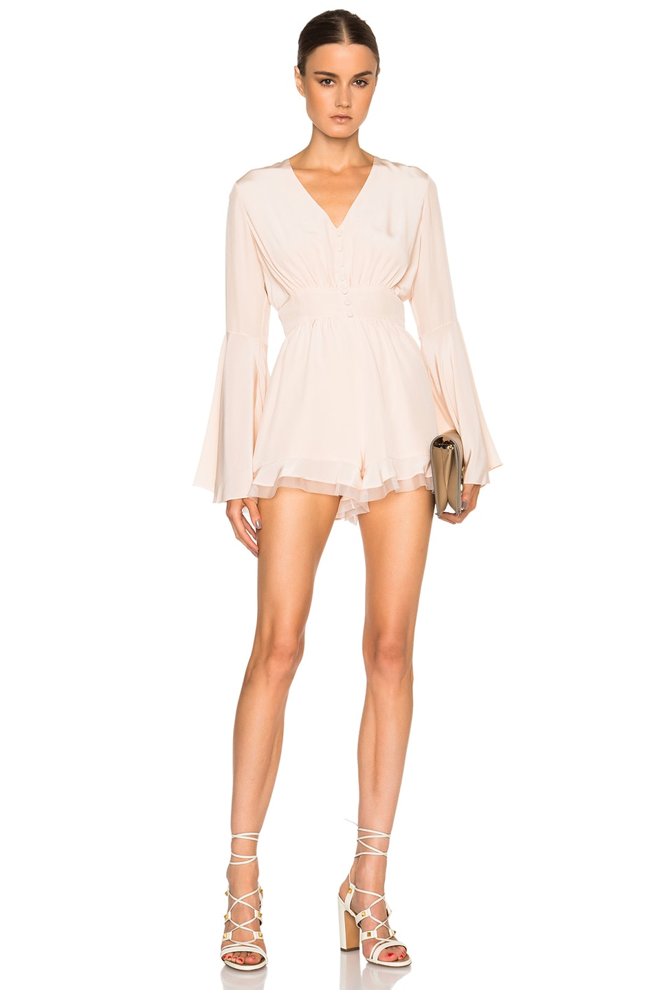 Image 1 of Alexis Martine Romper in Blush