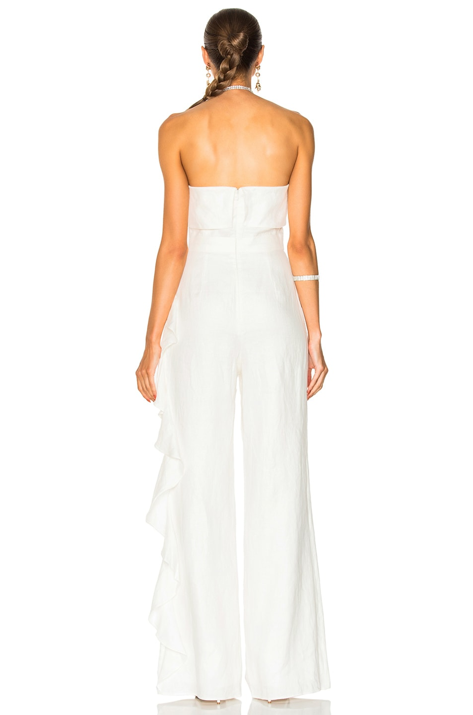 6aad50dd7562 Image 4 of Alexis Jara Jumpsuit in Off White