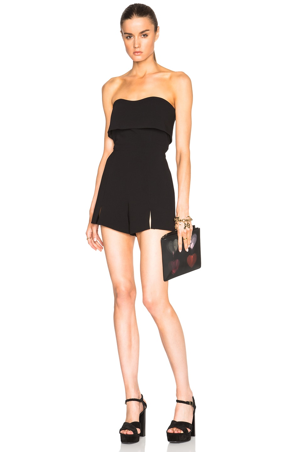 Image 1 of Alexis Kia Romper in Black