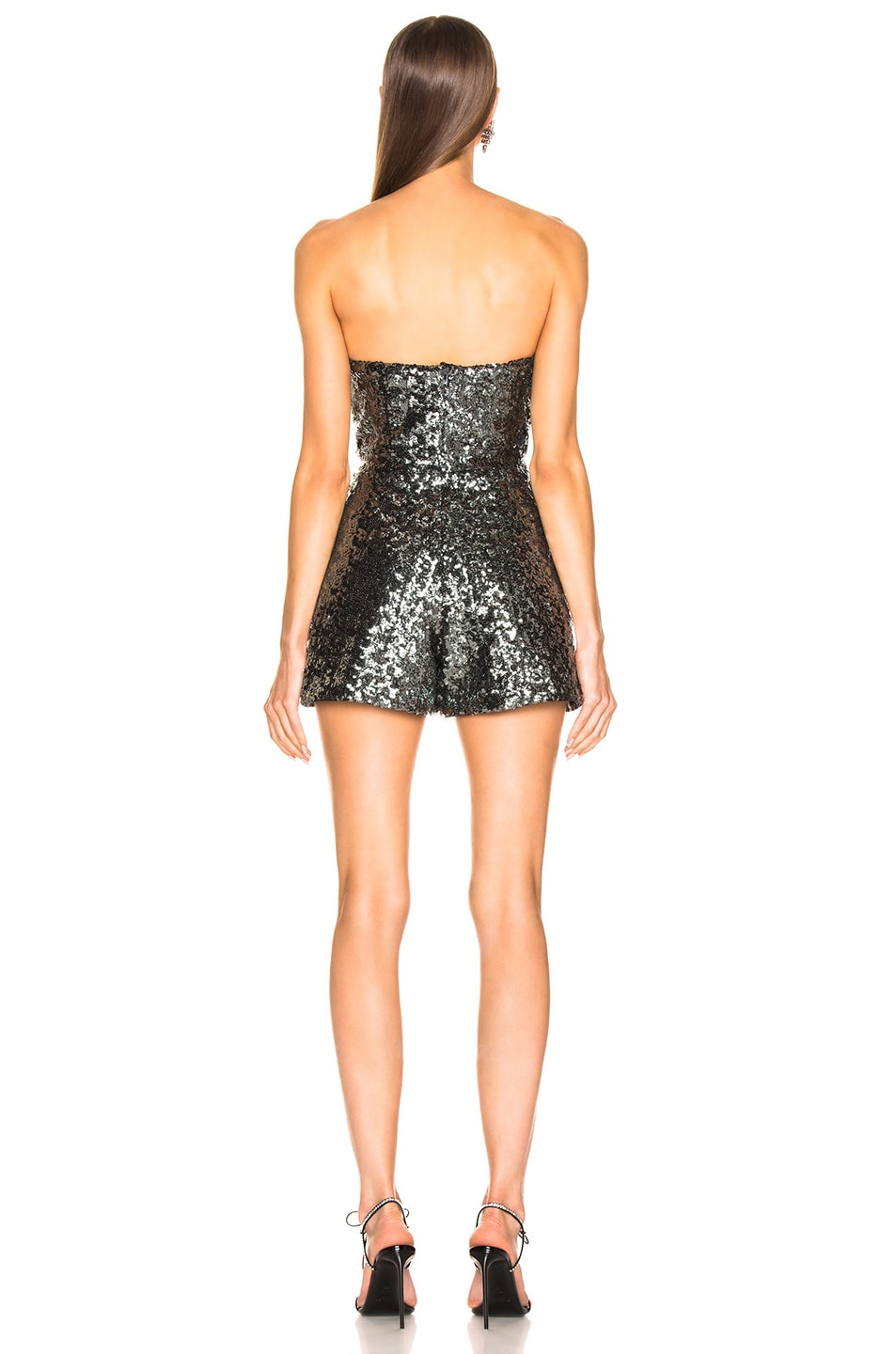 Image 3 of Alexis Rosemary Romper in Sequins