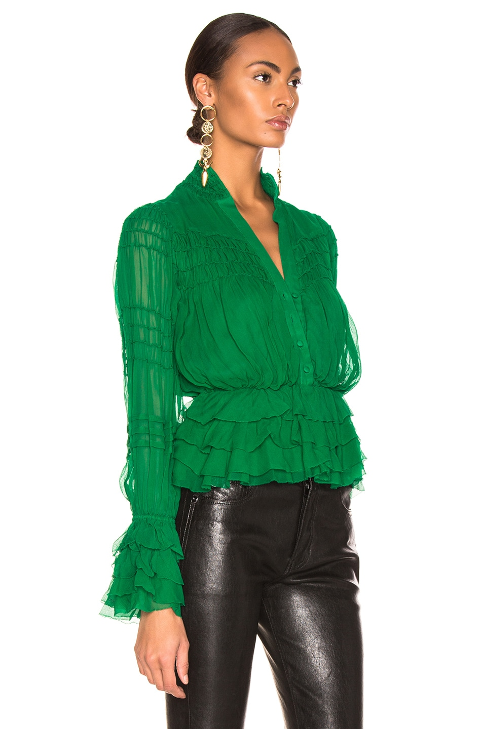 Image 2 of Alexis Eleni Top in Green