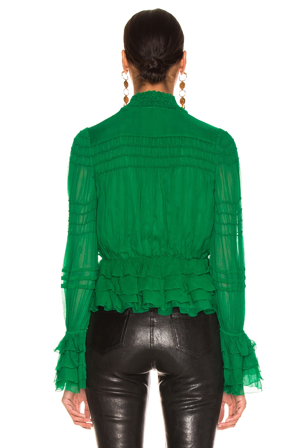 Image 3 of Alexis Eleni Top in Green