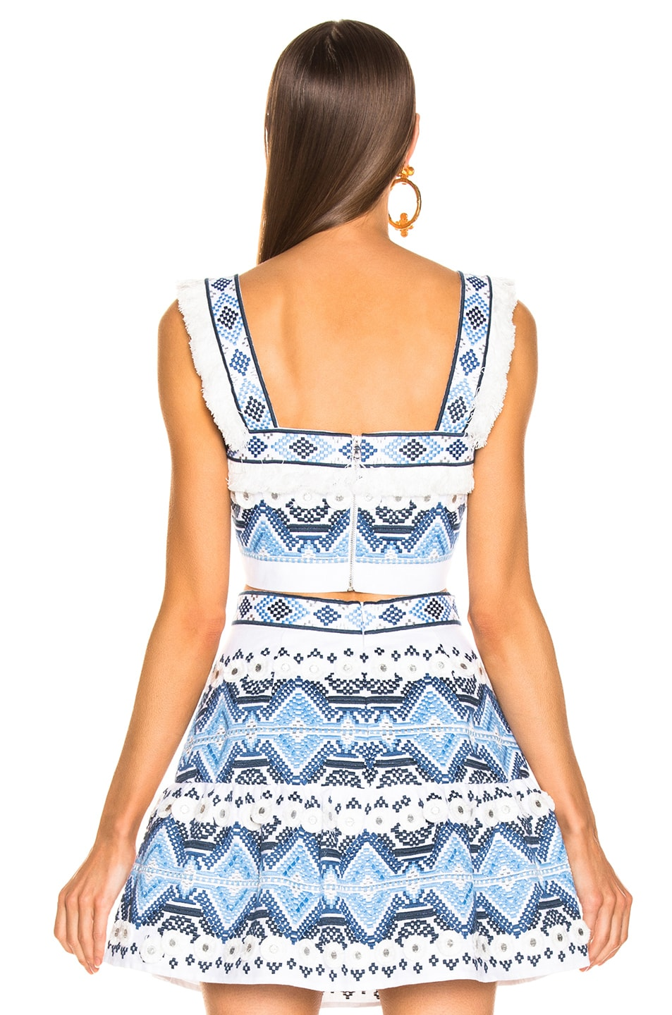 Image 3 of Alexis Liddy Top in Rich Embroidery Blue