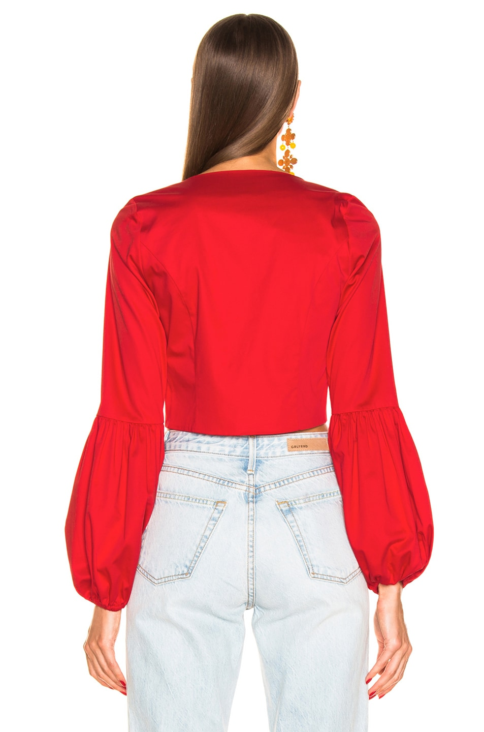 Image 3 of Alexis Ottera Top in Scarlet Red