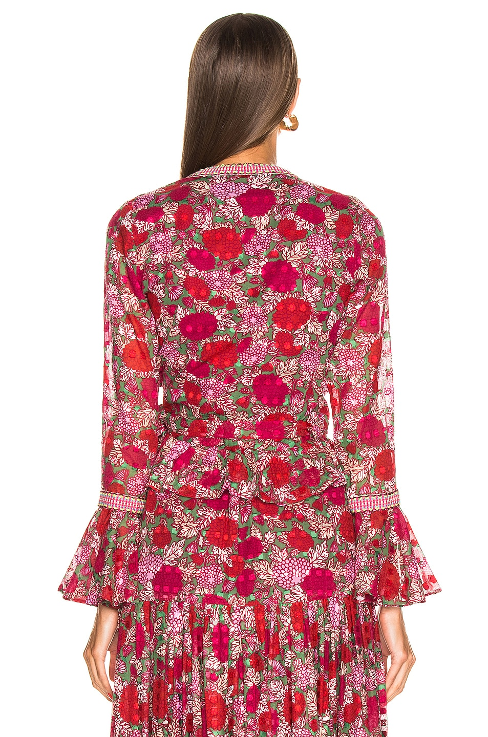 Image 3 of Alexis Stacia Top in Fuchsia Bouquet