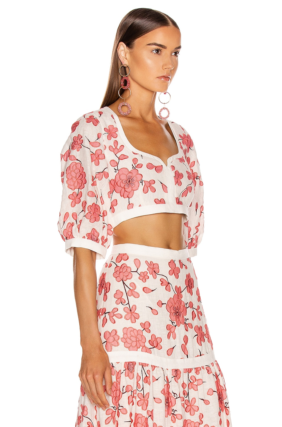 Image 2 of Alexis Jaska Top in Spring Blossom