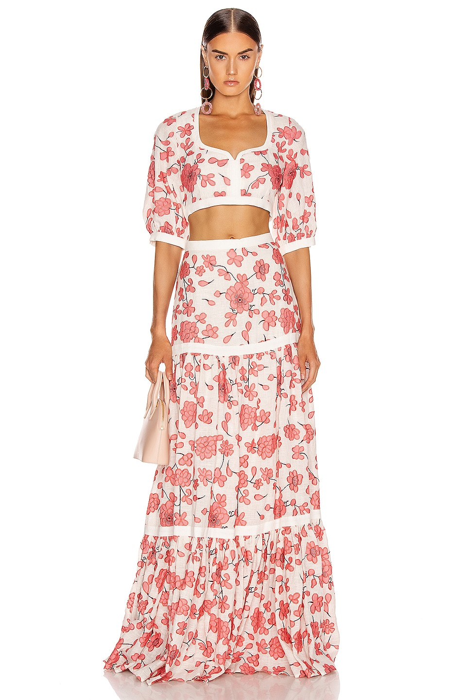 Image 4 of Alexis Jaska Top in Spring Blossom