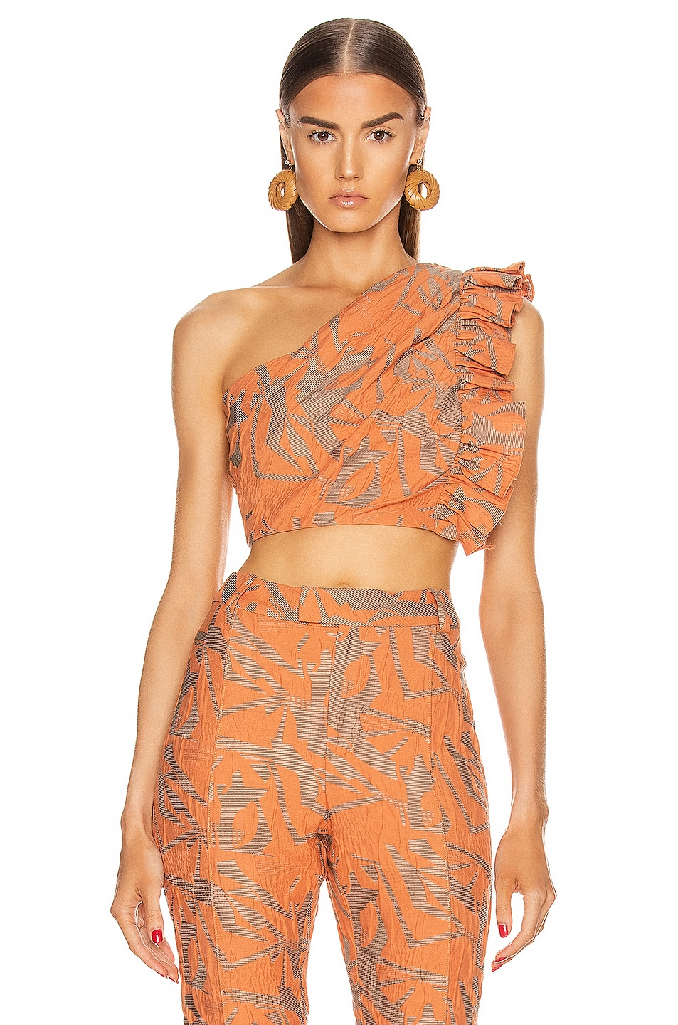 Image 1 of Alexis Frisa Top in Amber