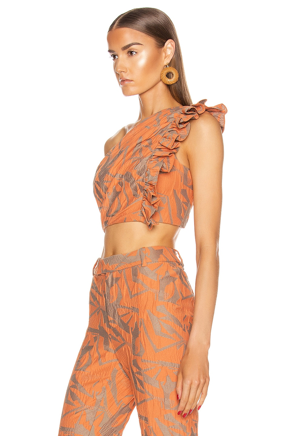 Image 3 of Alexis Frisa Top in Amber