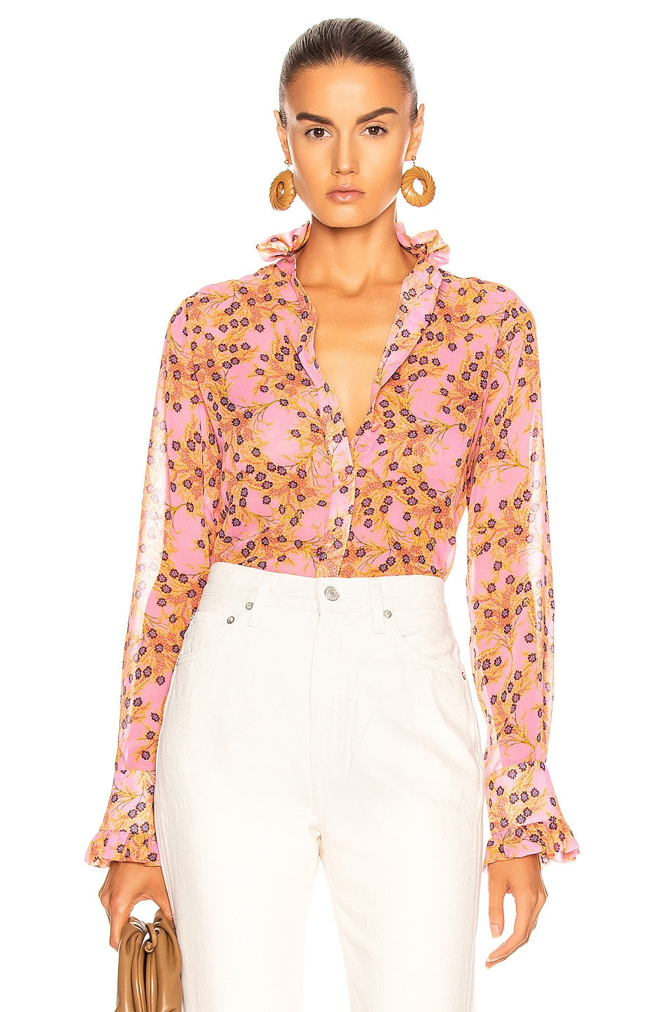 Image 1 of Alexis Indra Top in Rose Floral