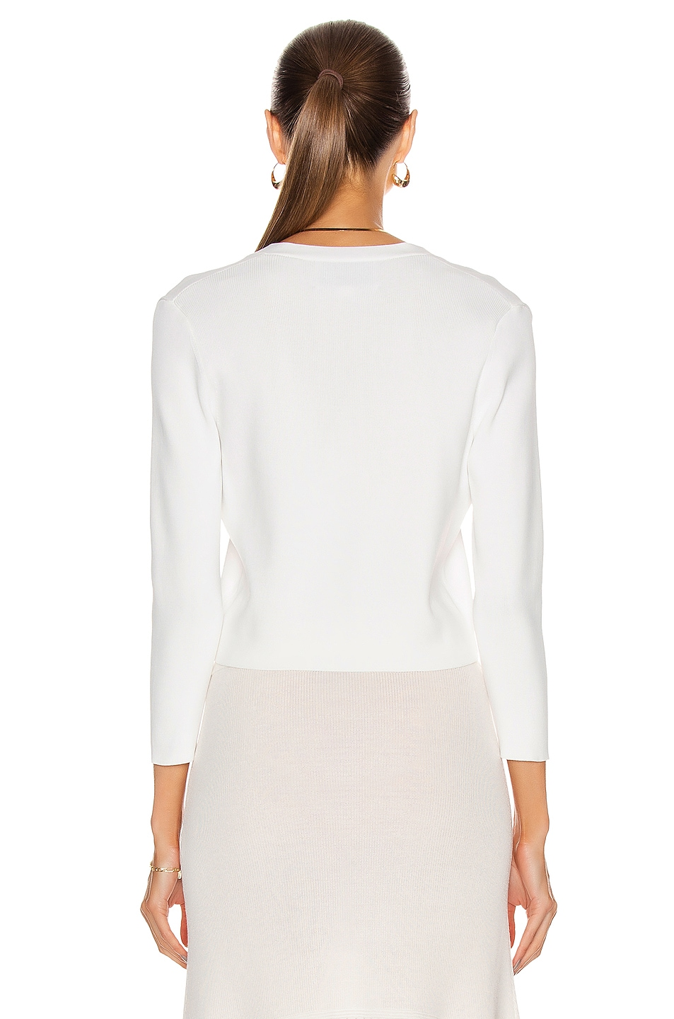 Image 3 of Alexis Petal Top in White