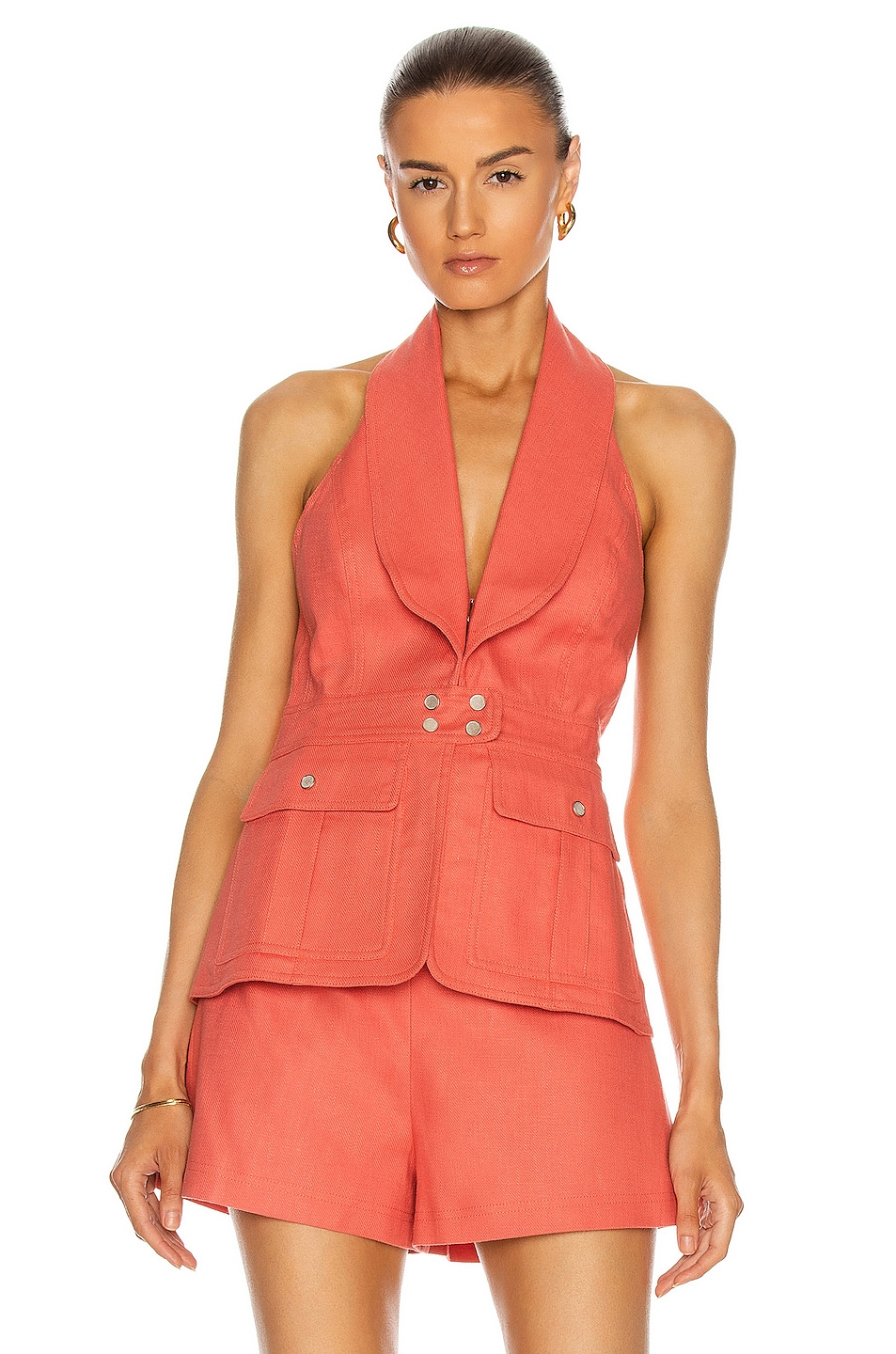 Image 1 of Alexis Micoli Top in Salmon