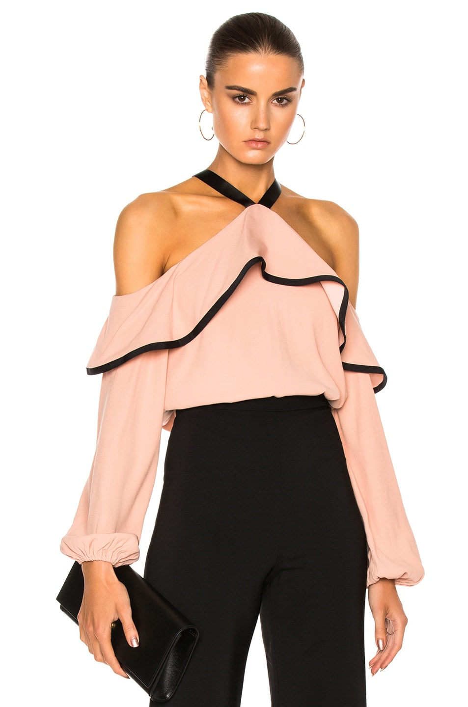 3ae9869d2 Image 1 of Alexis Malia Top in Dusty Rose