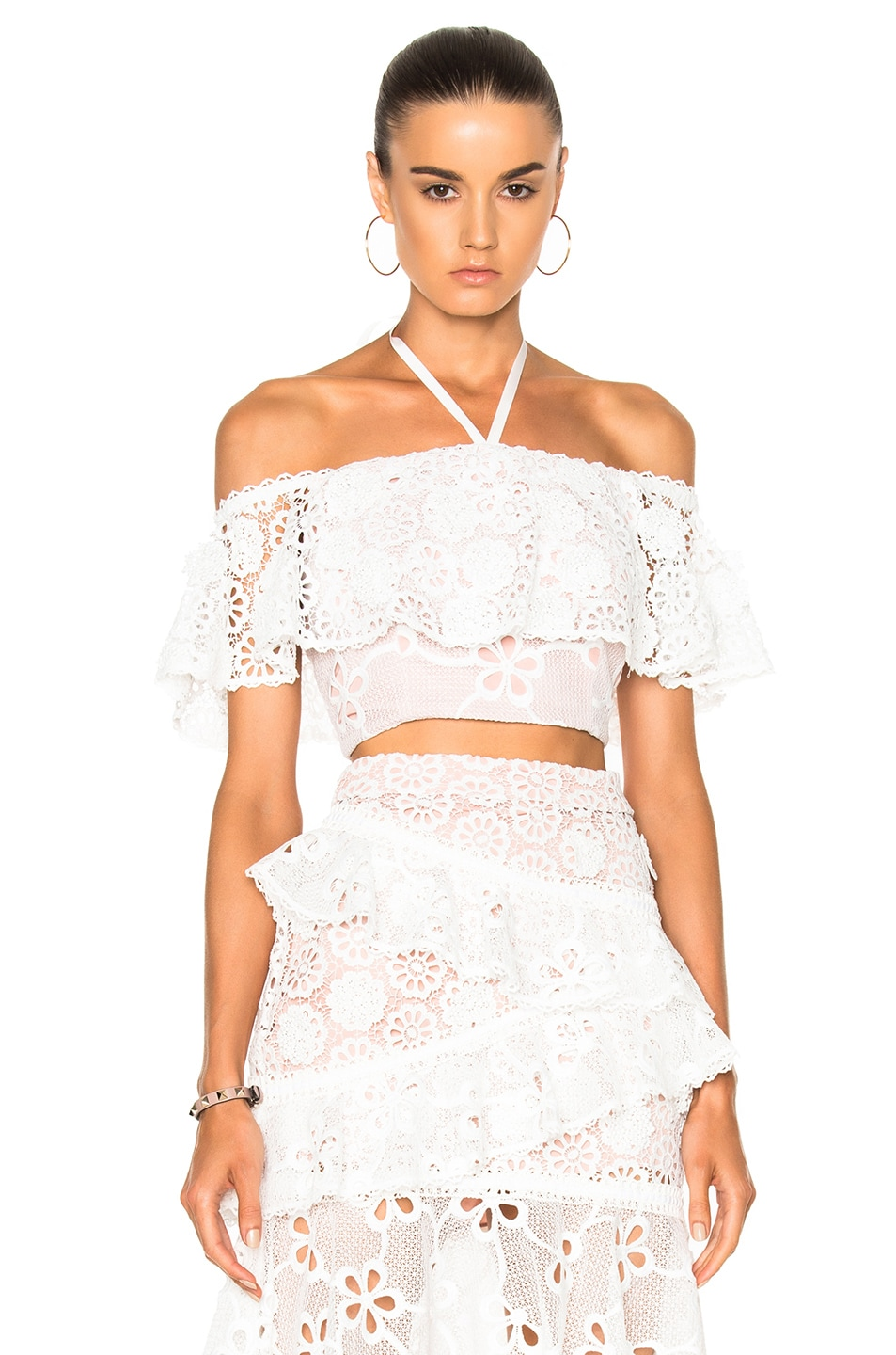 Image 1 of Alexis Cater Top in White