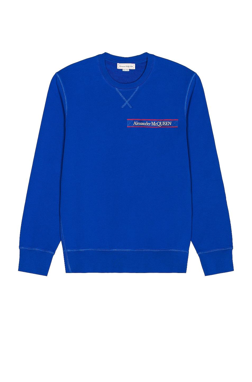 Image 1 of Alexander McQueen Sweatshirt in Bold Blue