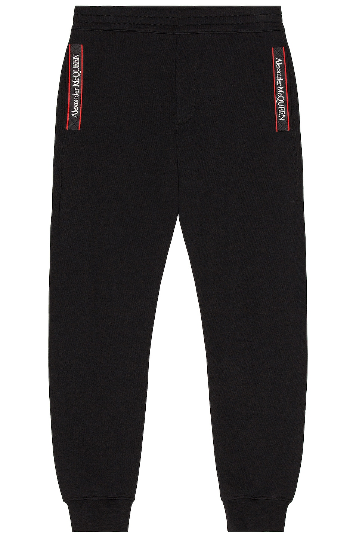 Image 1 of Alexander McQueen Jogger Pant in Black