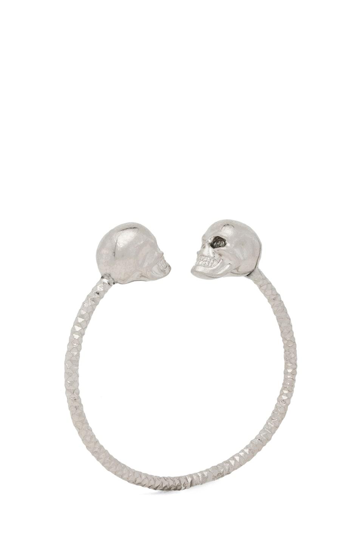 Alexander McQueen Earrings for Women, Metal, Brass, 2017, One Size