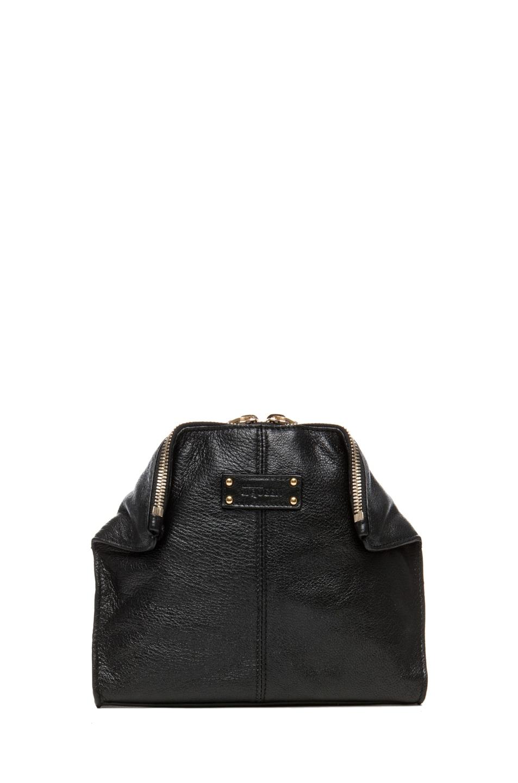 Image 1 of Alexander McQueen De Manta Cosmetics Case in Black