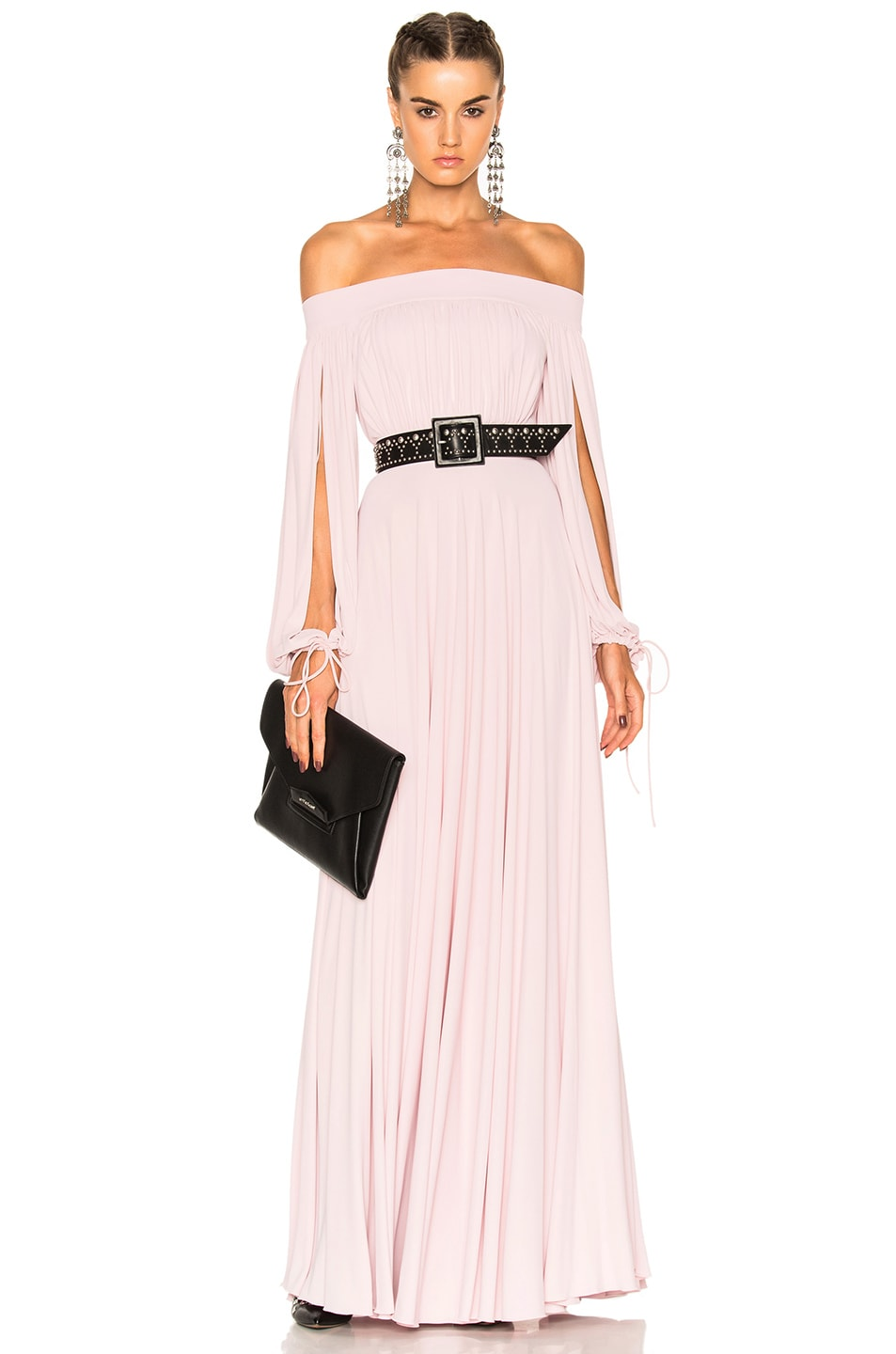 Image 1 of Alexander McQueen Sleeveless Maxi Dress in Clover