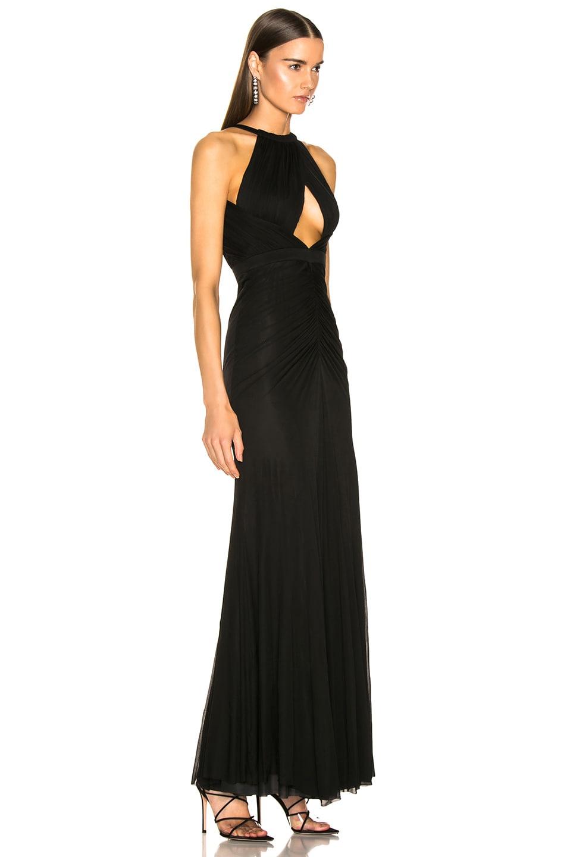 Image 2 of Alexander McQueen Halter Evening Dress in Black
