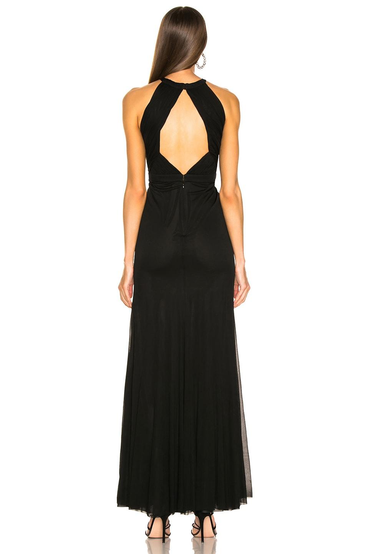Image 3 of Alexander McQueen Halter Evening Dress in Black