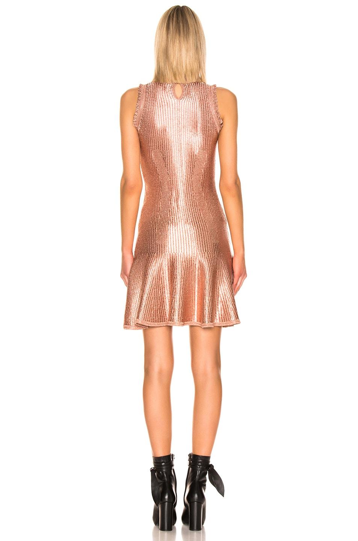 Image 3 of Alexander McQueen Mini Dress in Cowrie