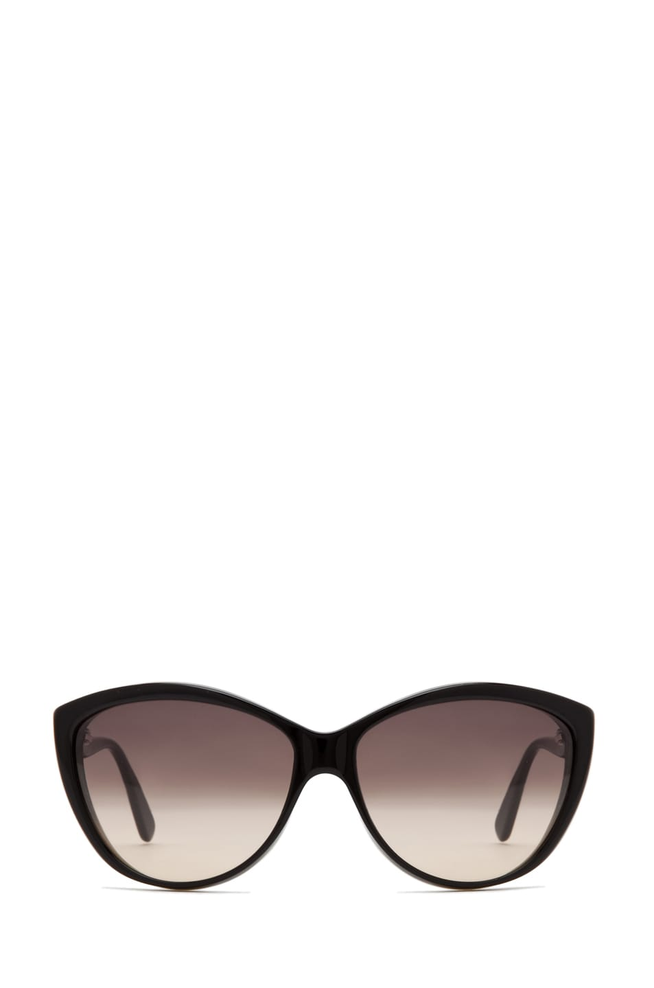 Image 1 of Alexander McQueen 4147 Sunglasses in Black Horn Black
