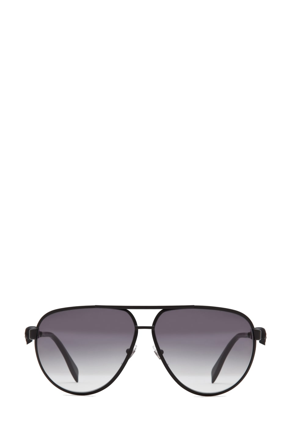 Image 1 of Alexander McQueen 4156 Sunglasses in Matte Black