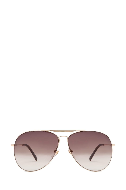 Image 1 of Alexander McQueen 4173 Sunglasses in Gold
