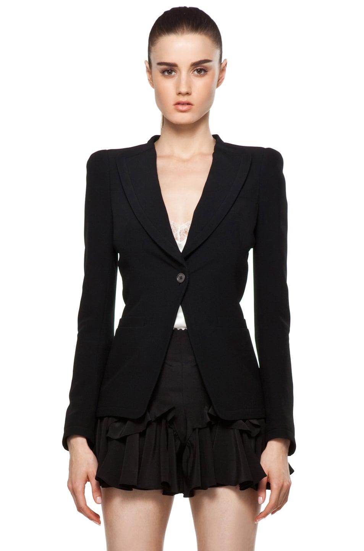 Image 1 of Alexander McQueen Blazer in Black