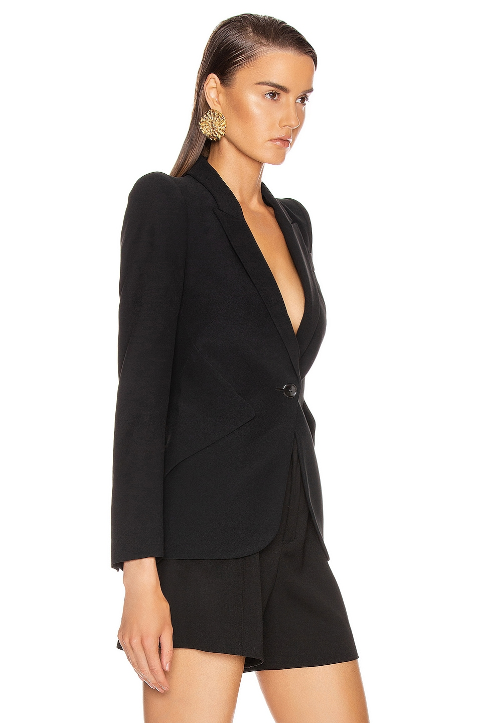 Image 2 of Alexander McQueen Tailored Jacket in Black