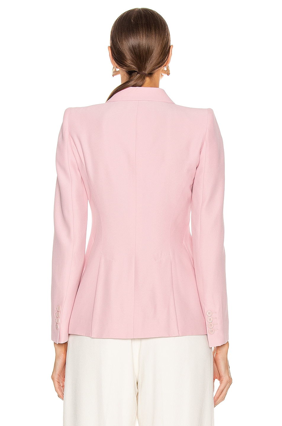 Image 4 of Alexander McQueen Tailored Jacket in Sugar Pink