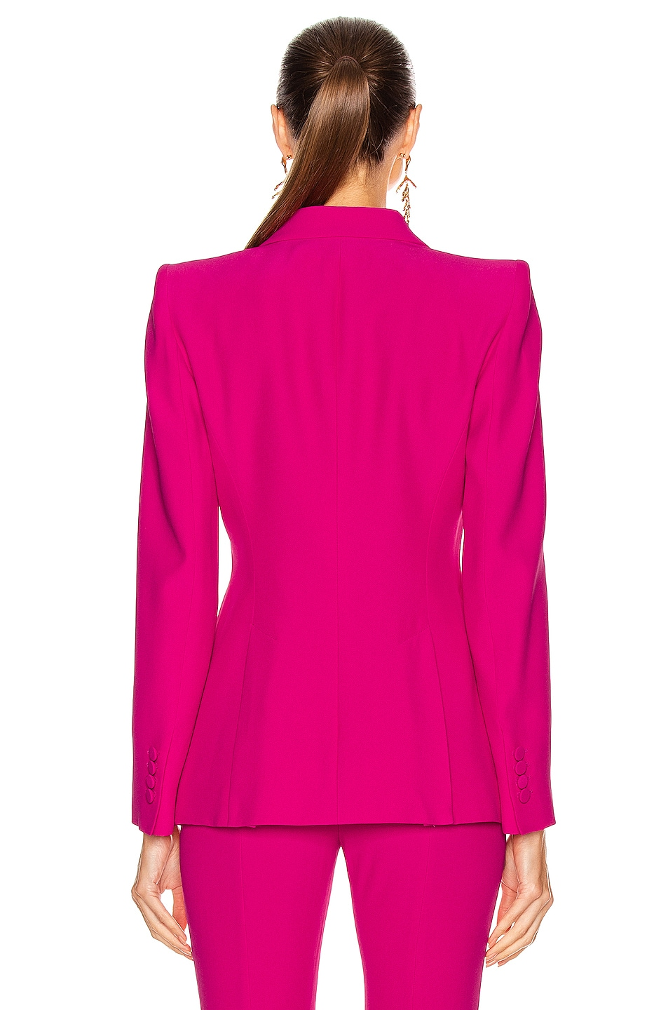 Image 3 of Alexander McQueen Tailored Jacket in Orchid Pink