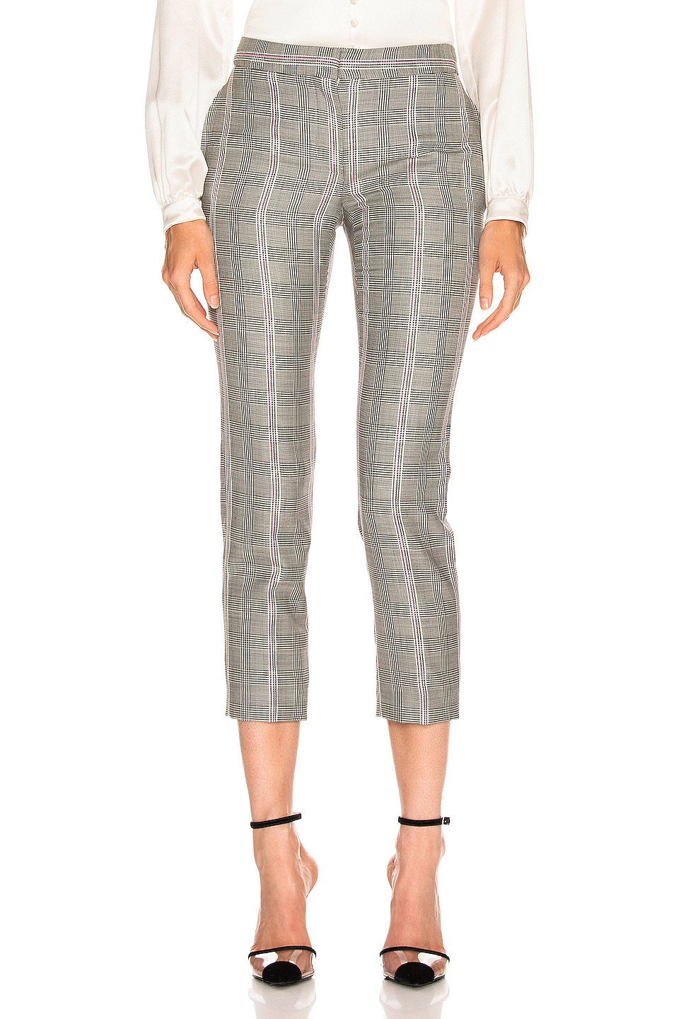 Image 1 of Alexander McQueen Prince of Wales Pant in Black & White