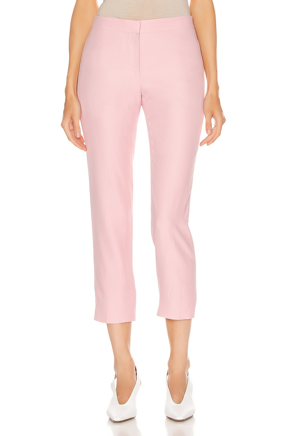 Image 1 of Alexander McQueen Cigarette Pant in Sugar Pink