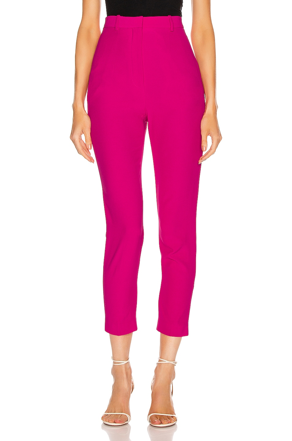 Image 1 of Alexander McQueen Tailored Pant in Orchid Pink