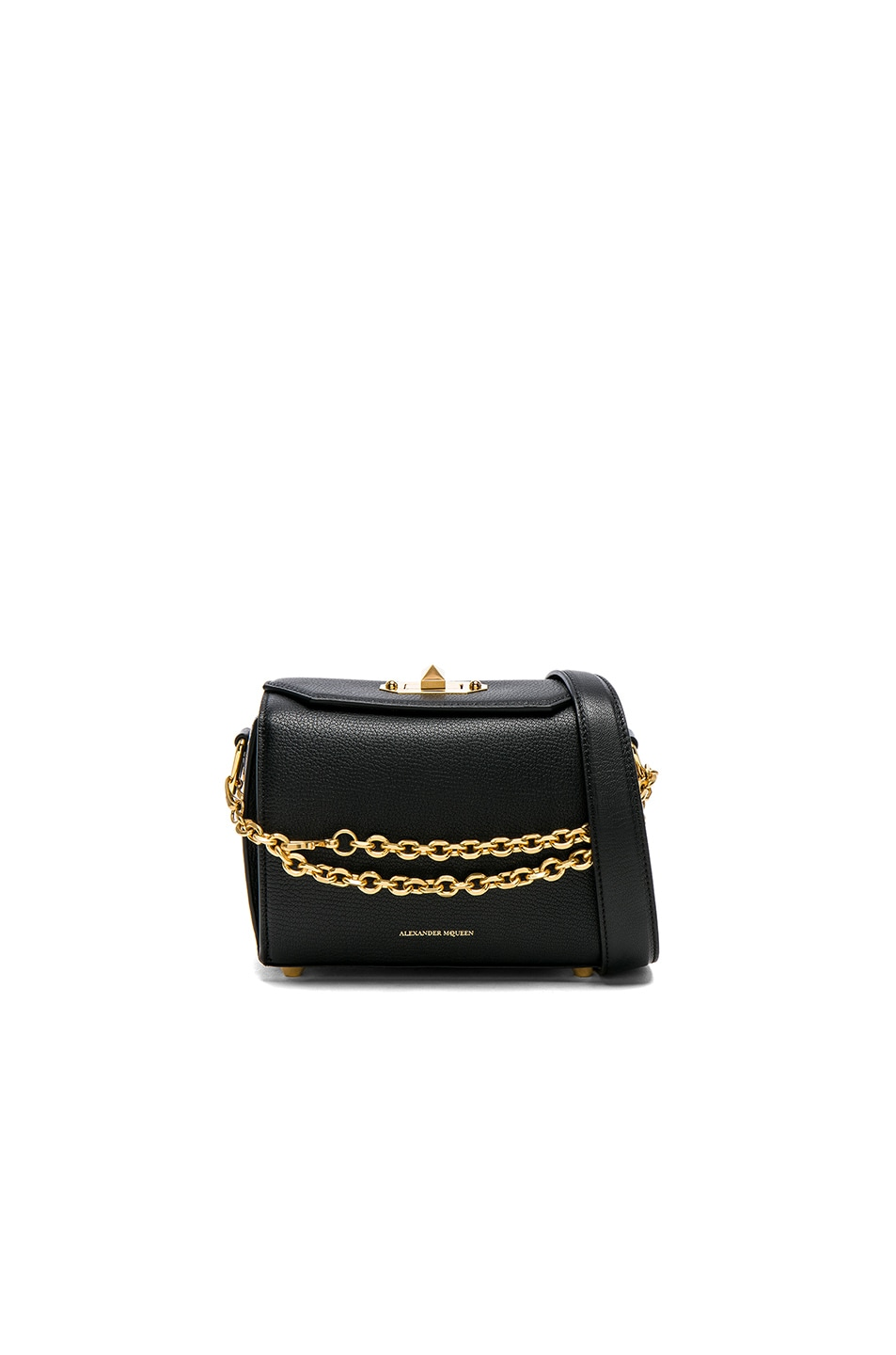 Image 1 of Alexander McQueen Box Bag in Black