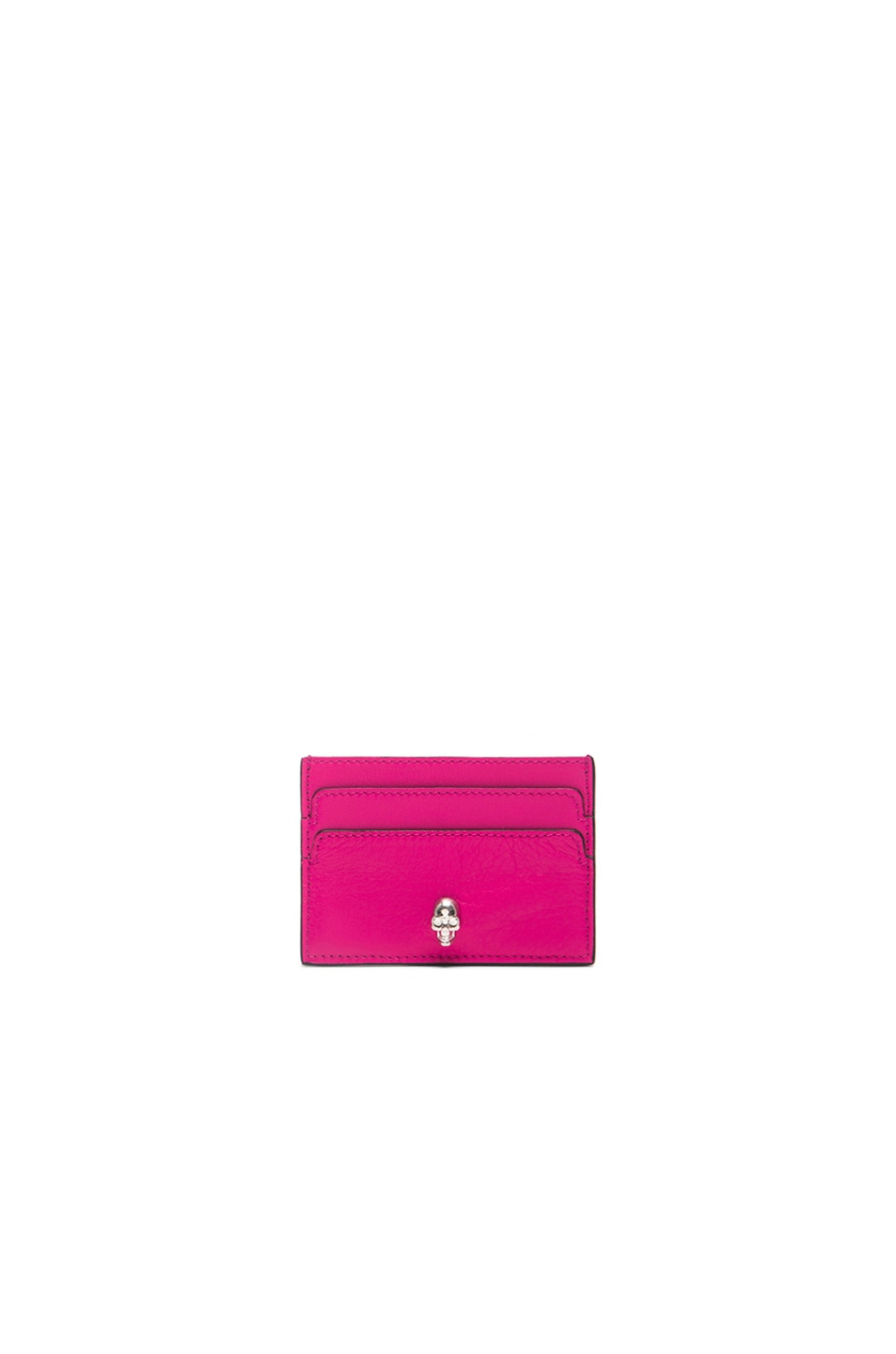 Image 1 of Alexander McQueen Card Holder in Bouganville