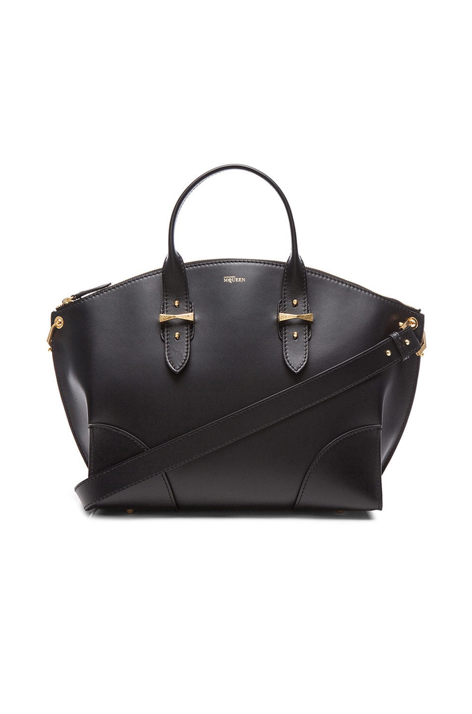 Image 1 of Alexander McQueen Legend Bag in Black
