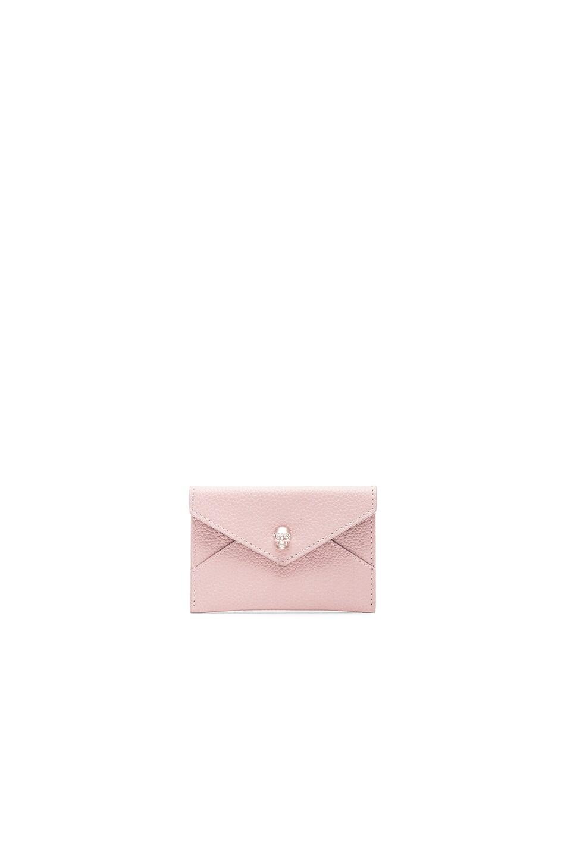 Image 1 of Alexander McQueen Envelope Card Holder in Patchouli