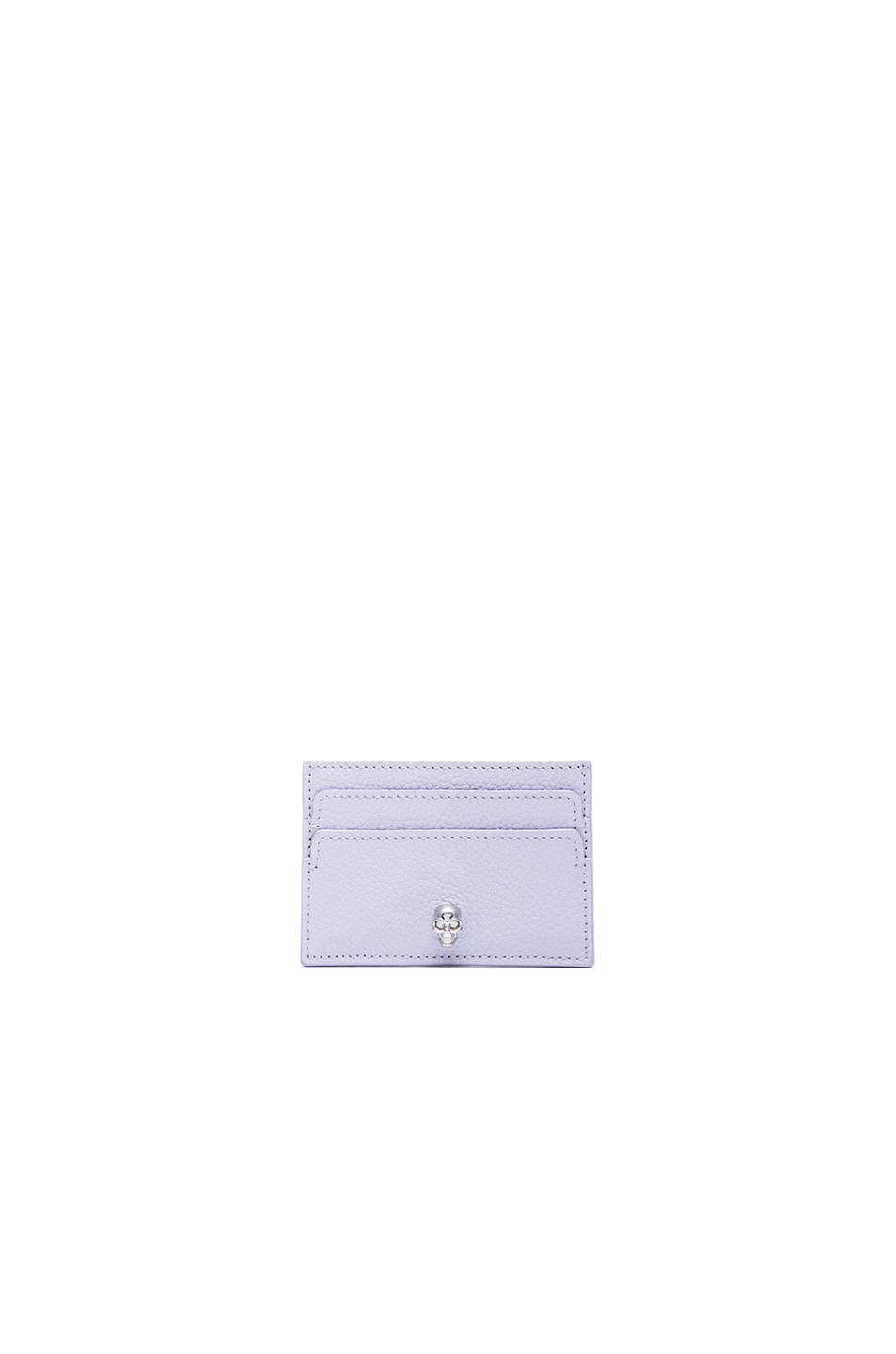 Image 1 of Alexander McQueen Card Holder in Claud Blue