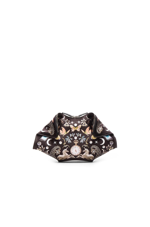 Image 1 of Alexander McQueen Small Demanta Clutch in Black & Multi