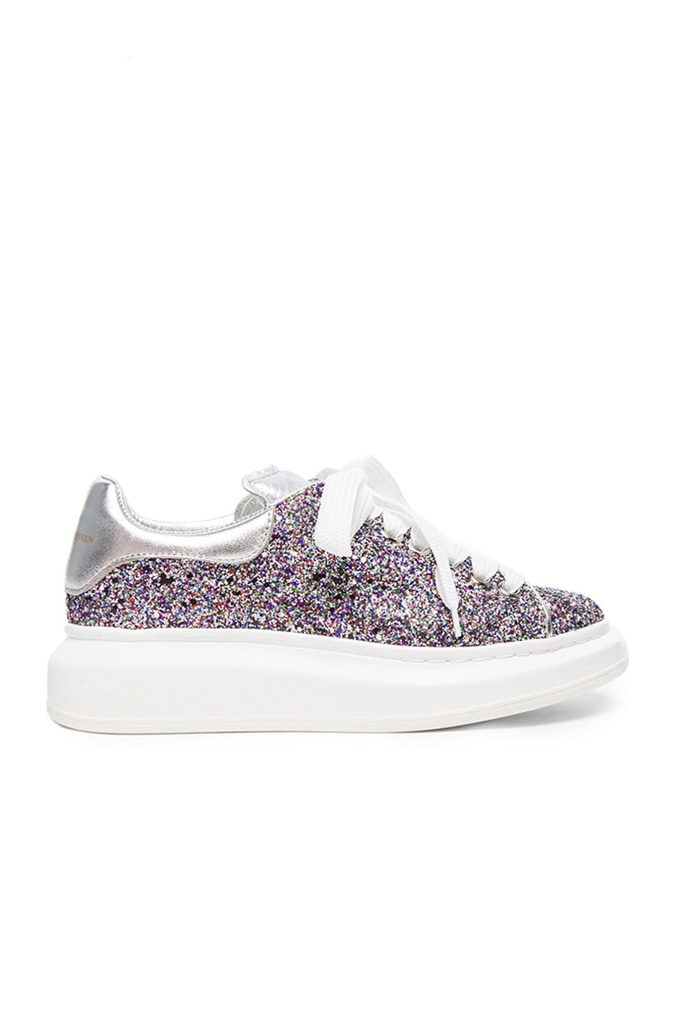 0ae37ce8845c Image 1 of Alexander McQueen Glitter Sneakers in Multi