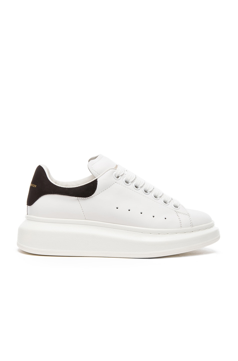 Sneakers for Women On Sale, Black, Leather, 2017, 4 6 Alexander McQueen