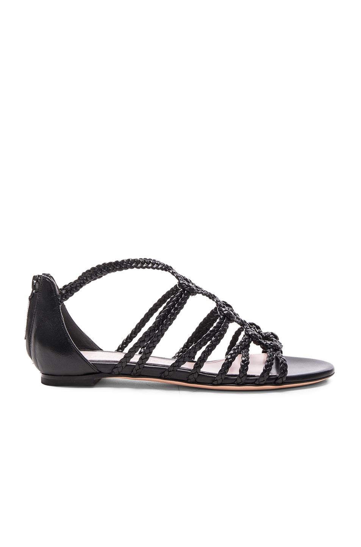 Leather sandals Alexander McQueen sagoayFsv6