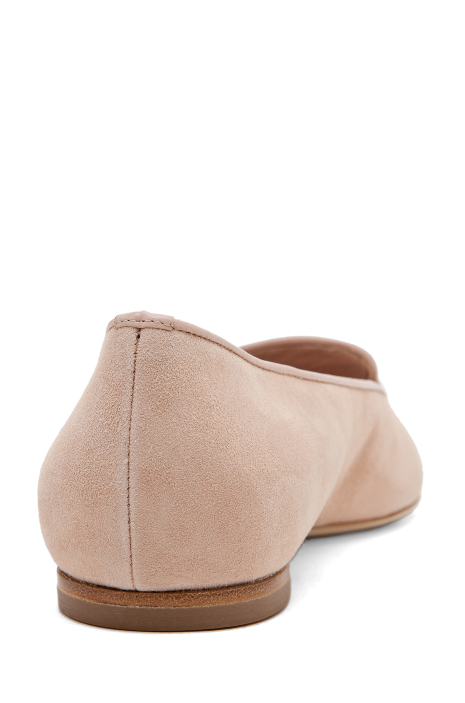 Image 3 of Alexander McQueen Skull Suede Slippers in Pale Pink & Rose