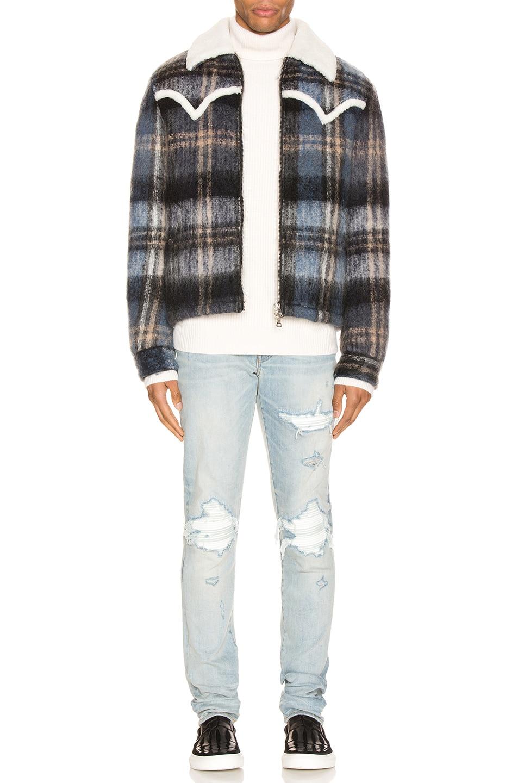Image 4 of Amiri MX1 Jean in Light Crafted Indigo