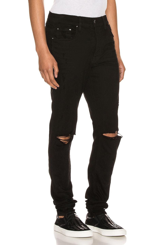 Image 2 of Amiri Slash Jean in Black