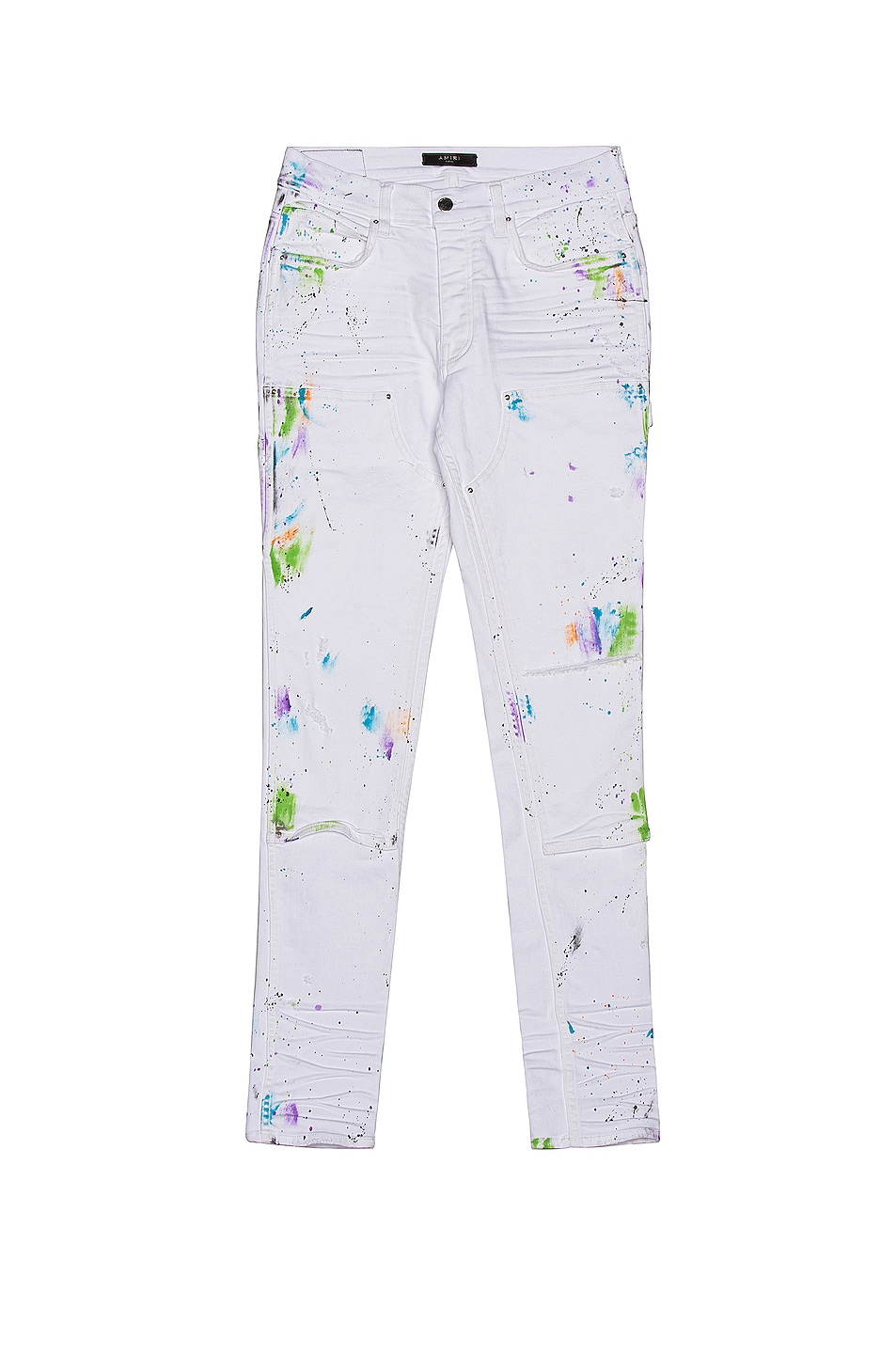 Image 1 of Amiri Painter Workman Skinny Pant in White