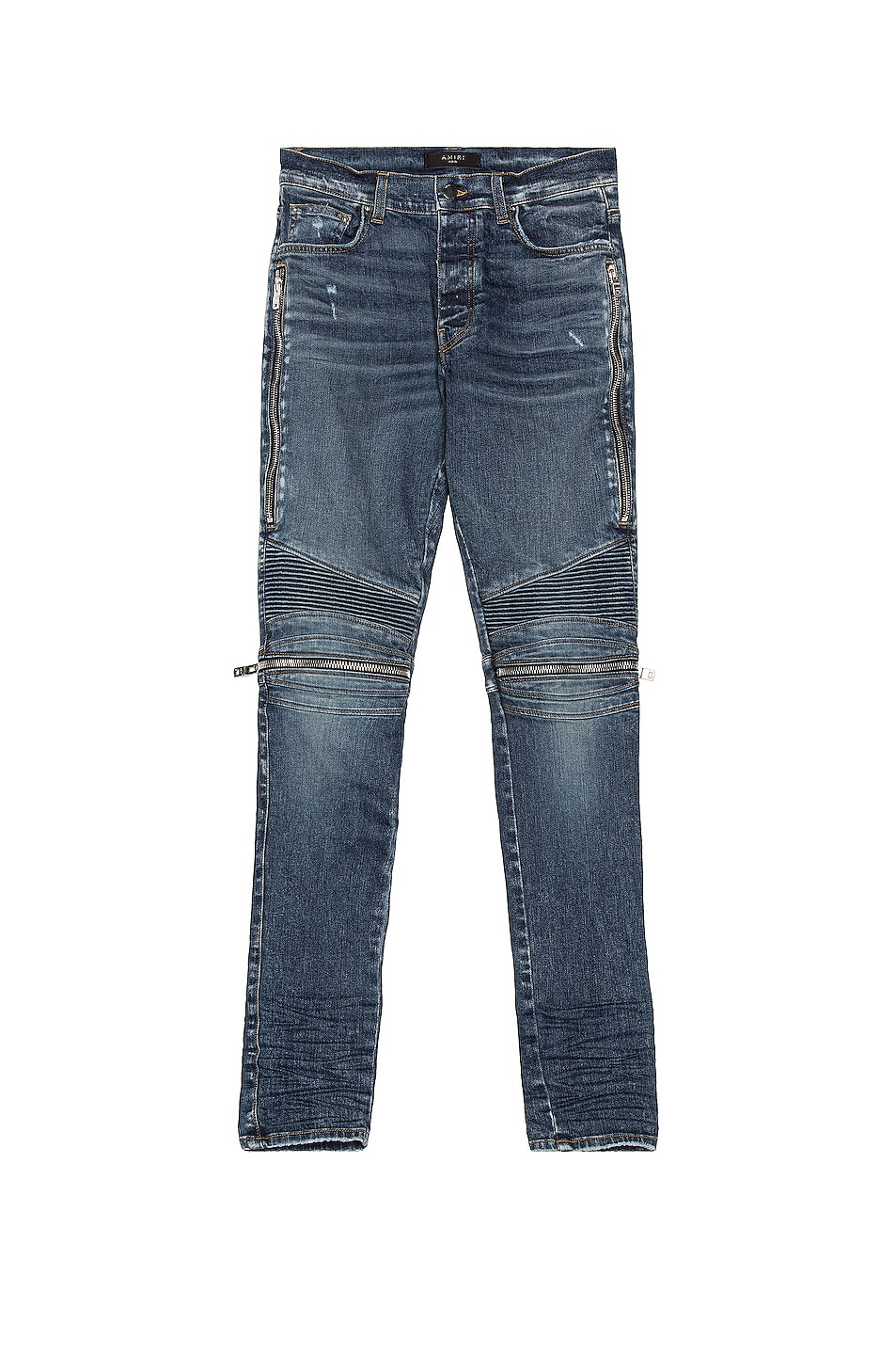 Image 1 of Amiri MX2 Denim Jean in Classic Deep Indigo